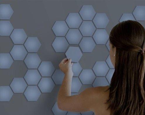 LED-обои для стен